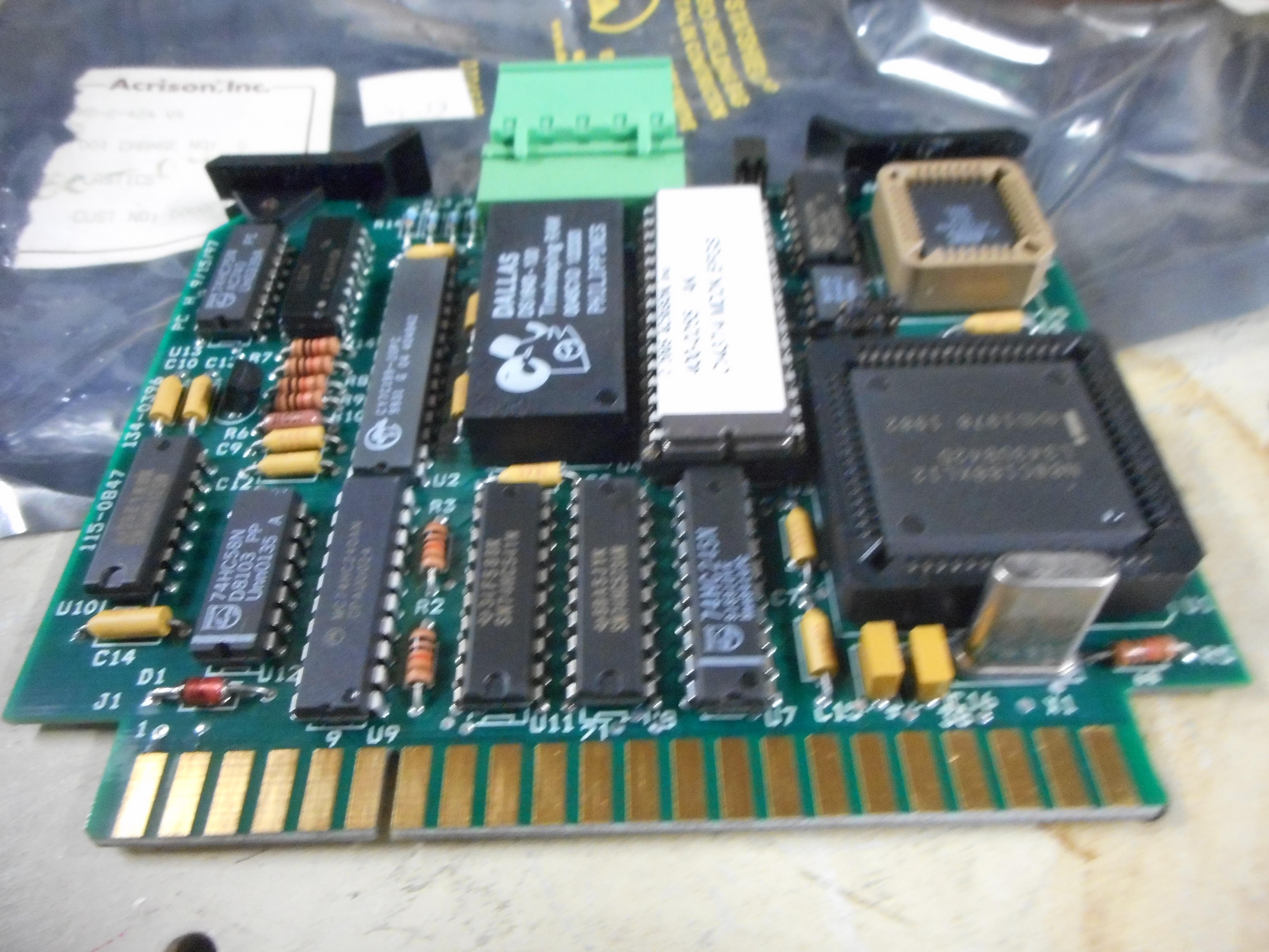 CPU BOARD #1, MDII CPU #1 MOD MD-2-424 V4, w/400-0255